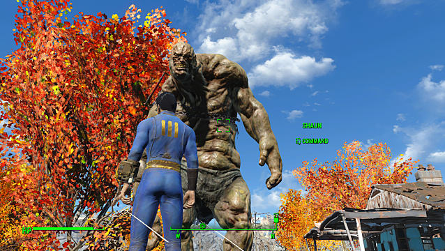 New Fallout 4 mod lets you have a Deathclaw or Super Mutant