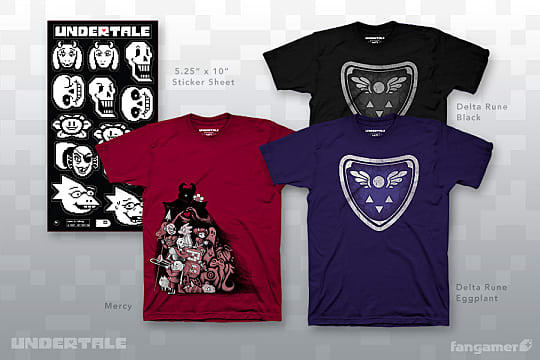 official undertale merchandise arrives in time for holidays undertale