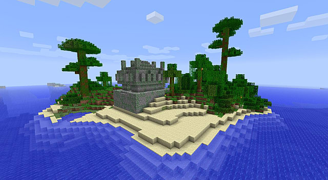 Big Island Seed Minecraft Xbox