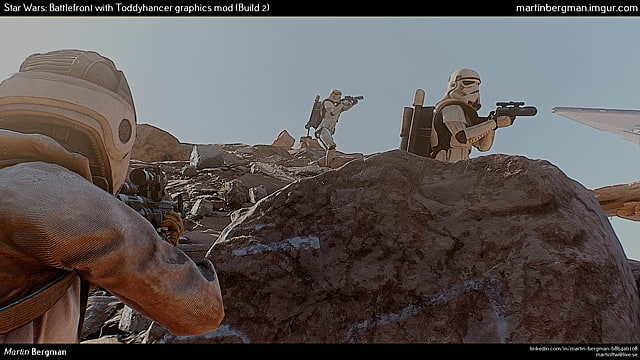 Crazy Star Wars Battlefront PC mod makes visuals look