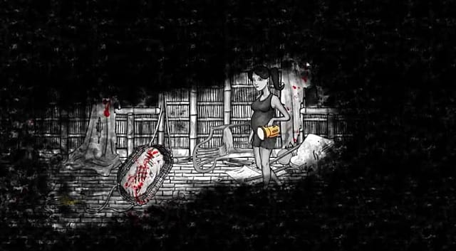 Infinitap Announces Devastated Dreams A 2d Horror Game