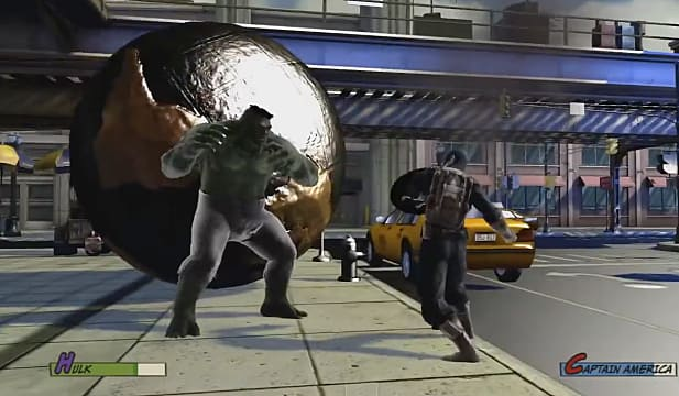 Footage of EA and Marvel Planned 3D Fighter Surfaces