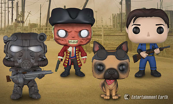 Four New Fallout 4 Funko Pop Vinyl Collectibles Coming