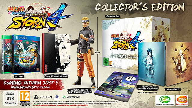 Naruto Shippuden Ultimate Ninja Storm 4 Collector's Edition