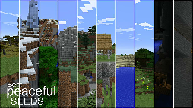 The Best Seeds For A Peaceful Minecraft Experience With