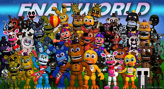 Five Nights At Freddy S World Where The Party Starts To Get Creepy Five Nights At Freddy S