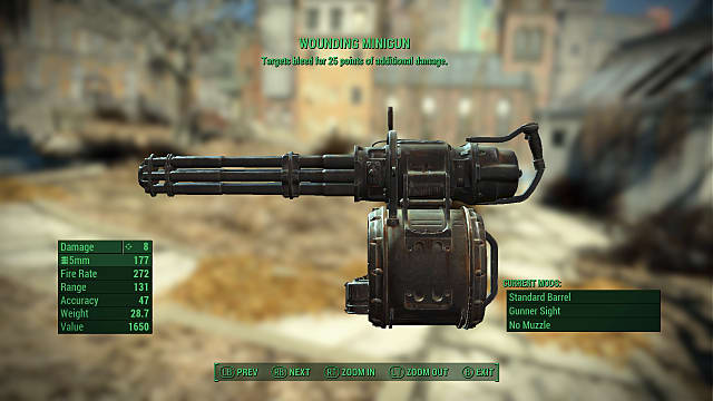 OP weapons? In MY Fallout 4? These weapons blow the others (and