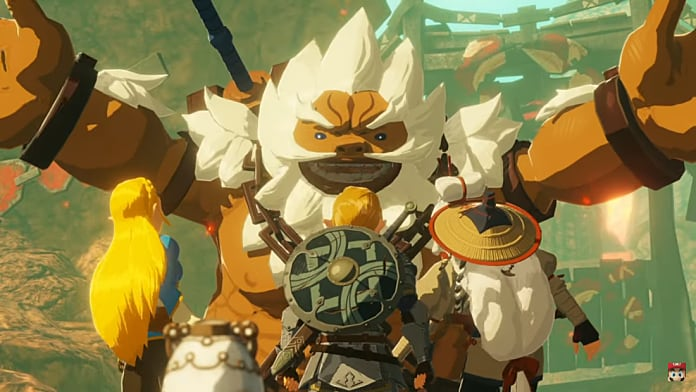 Hyrule Warriors Age Of Calamity Gameplay Shows Off Playable Champions Young Impa