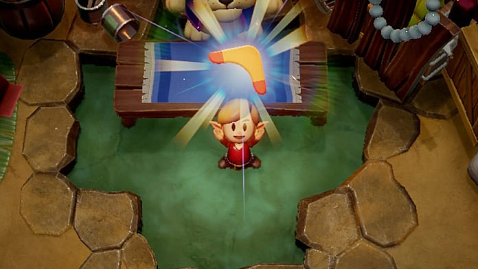 Link S Awakening Switch How To Get The Boomerang Via Trading