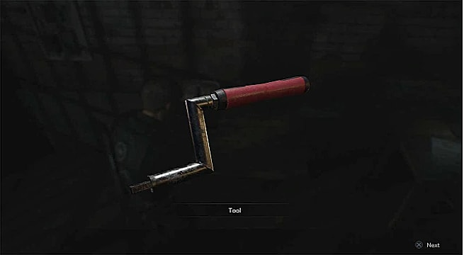 Where to Find the Square Crank Handle in the Resident Evil 2