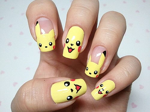 Top 10 Gaming Nail Art Slide 4