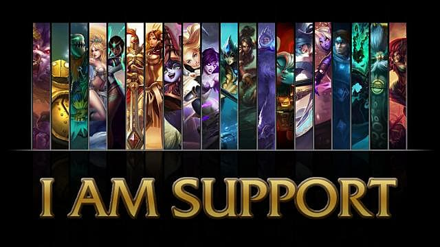 Top 10 Most Played Support Champions In Ranked