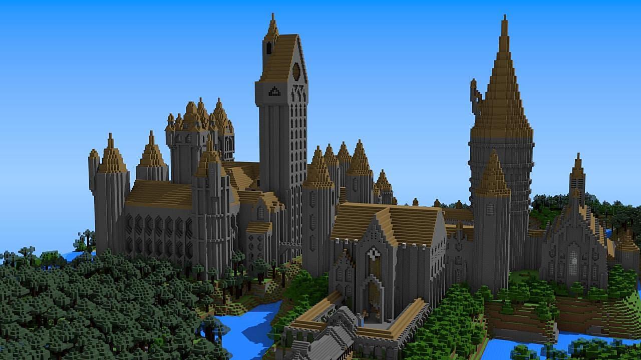 Happy Birthday Minecraft Heres An Amazing Harry Potter Build