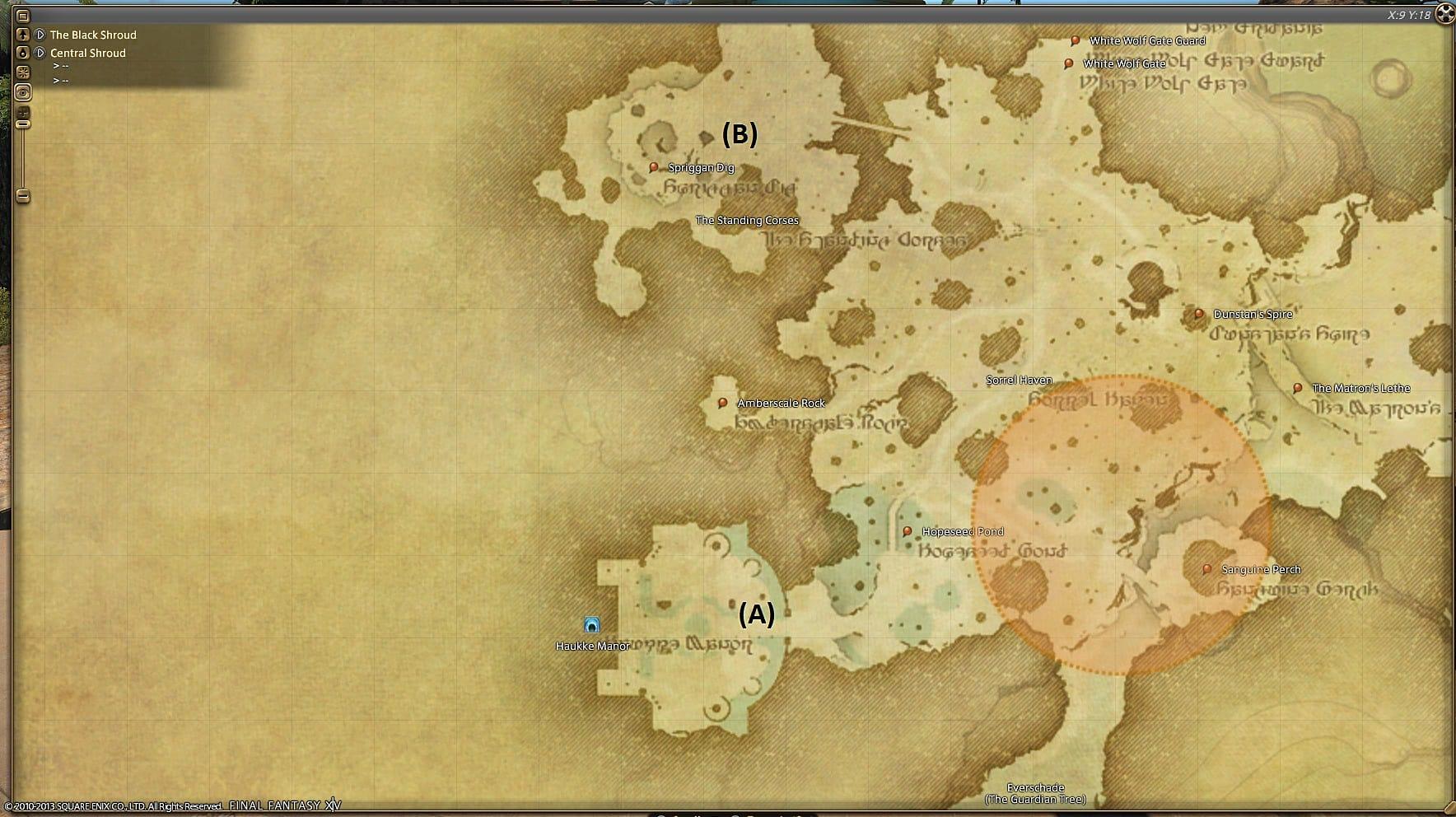 Ffxiv Hunt Locations