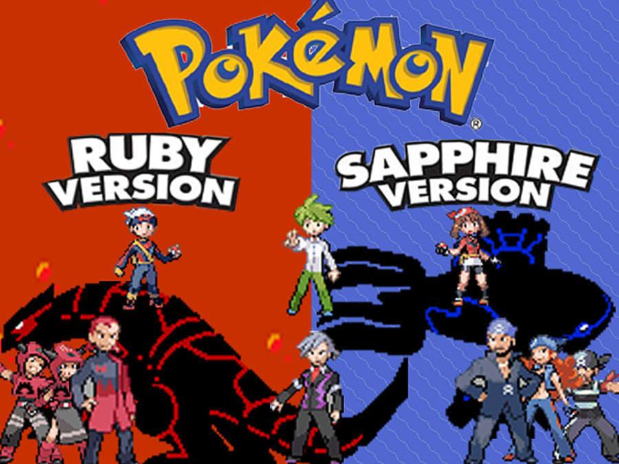 pokemon emerald vs ruby vs sapphire