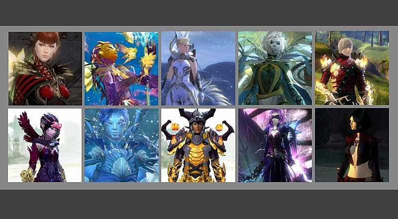 The Most Couture Character in Guild Wars 2 - Vote on the Top