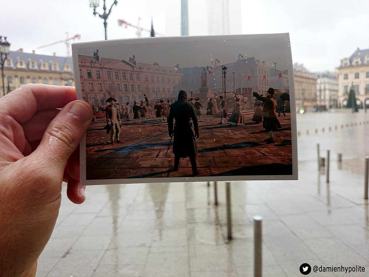 The Art Of Assassin S Creed Unity Vs Real Life Assassin S Creed