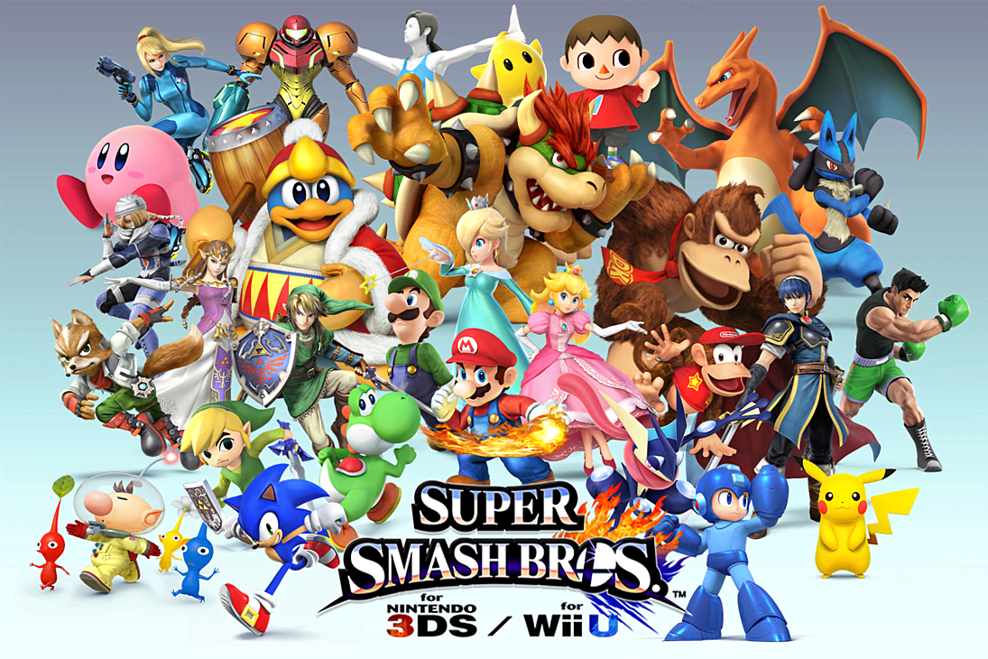how to connect 3ds to wii u smash bros