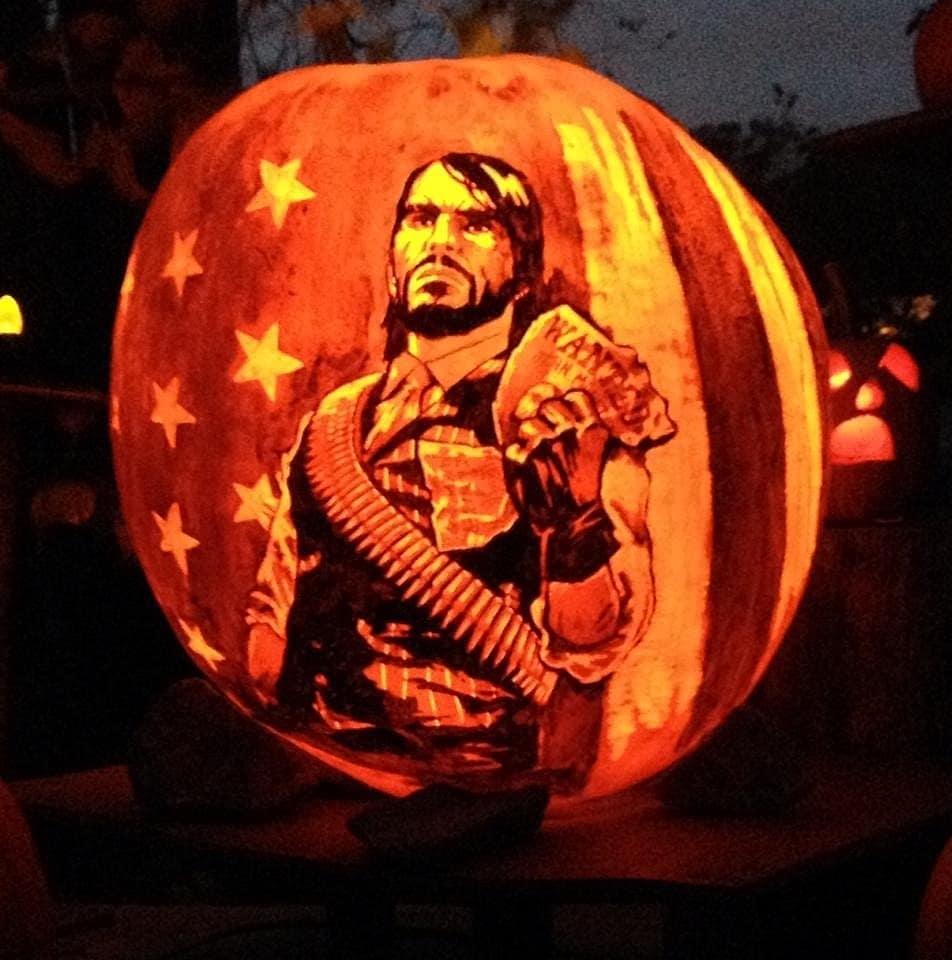 Epic video game pumpkins