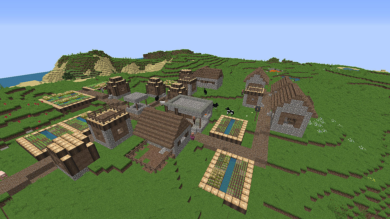 The 10 Best Minecraft Seeds With Villages | Minecraft