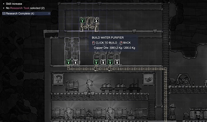 How to Set Up a Shower in Oxygen Not Included   Oxygen Not