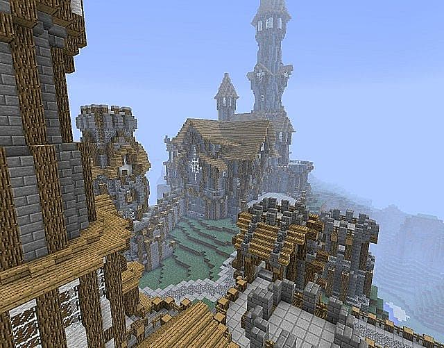 Top 8 Minecraft Castle Seeds With Downloadable Maps Slide 3