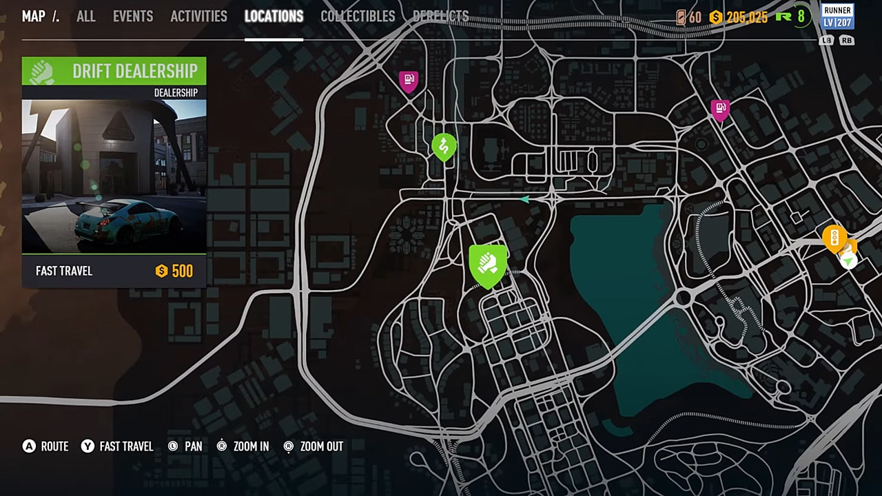 Need For Speed Payback Guide All 5 Dealerships Locations Need For Speed Payback