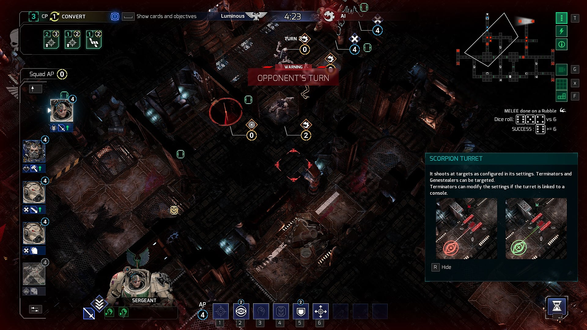Space Hulk Tactics Review: Turn-Based Combat in a Space Maze
