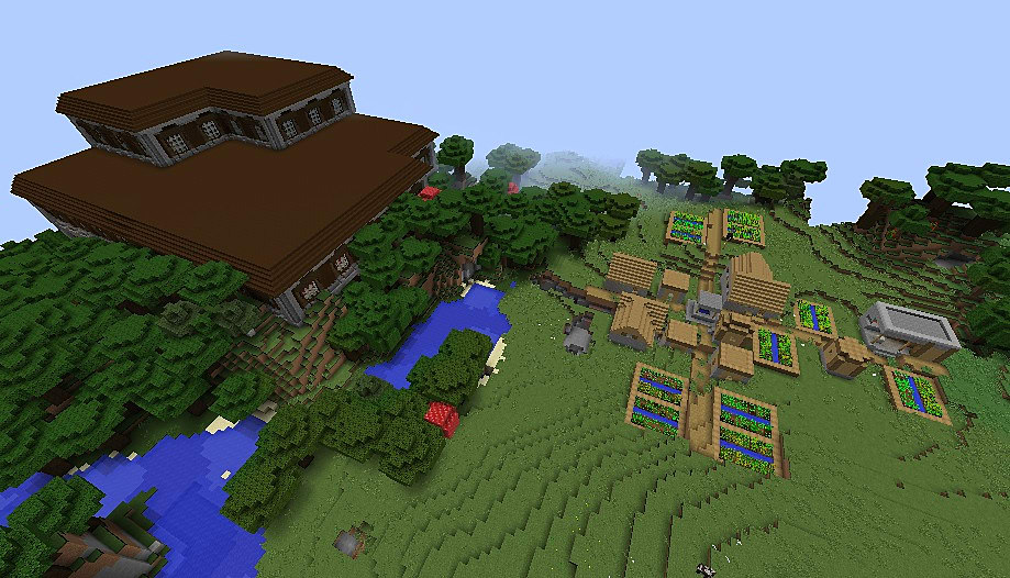 Top 20 Minecraft Seeds For Minecraft 1 11 2 January 2017