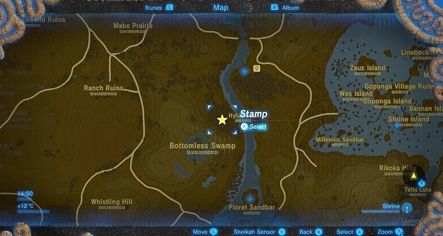 Zelda Breath Of The Wild Shrine Locations >> Legend of Zelda: Breath Of The Wild - Where to Find All 13 Captured Memory Locations   The ...