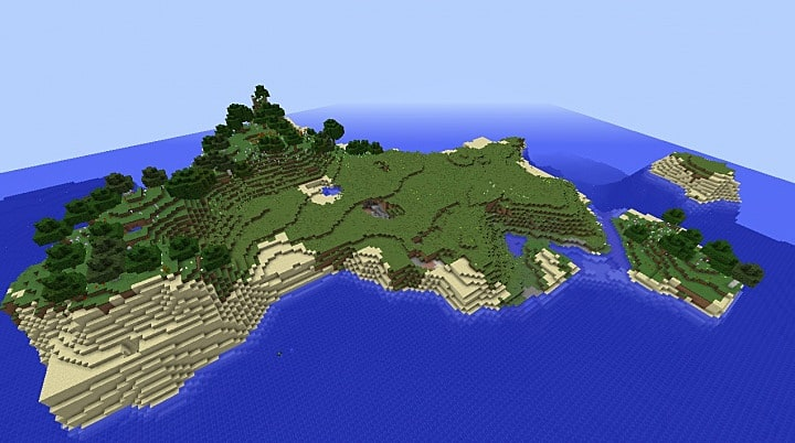 Best Island Minecraft Seeds Minecraft