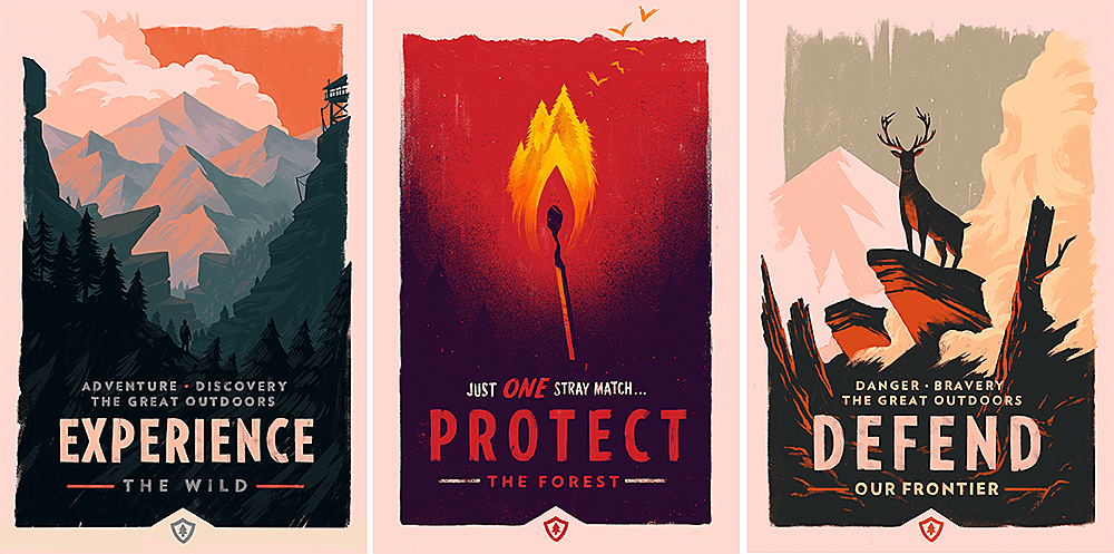 I Would Also Really Recommend Following Olly Moss Who Created The Posters For Firewatch So That You Can Stay Up To Date On His Work