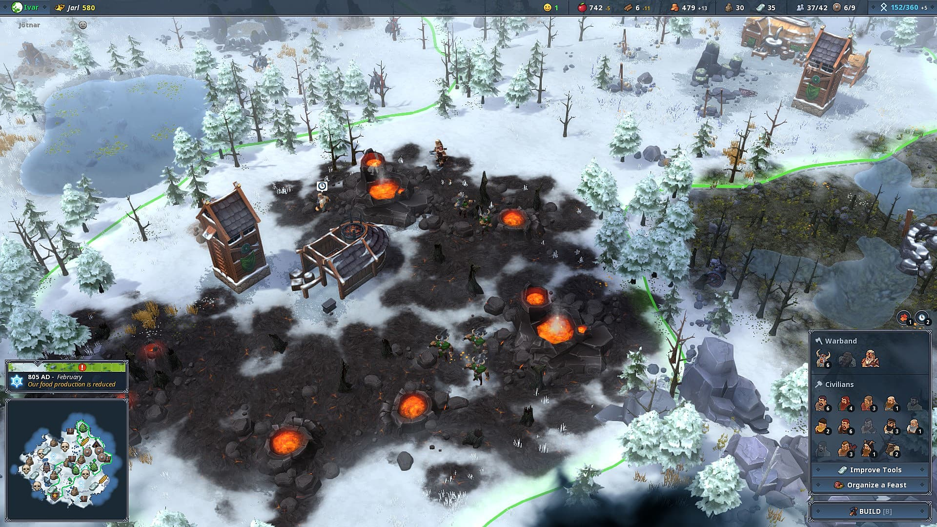 Northgard Guide: How to Win by Forging the Sword of Odin