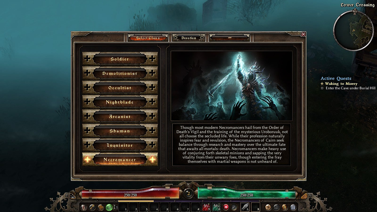 Grim Dawn: Ashes Of Malmouth Necromancer Build Guide | Grim Dawn