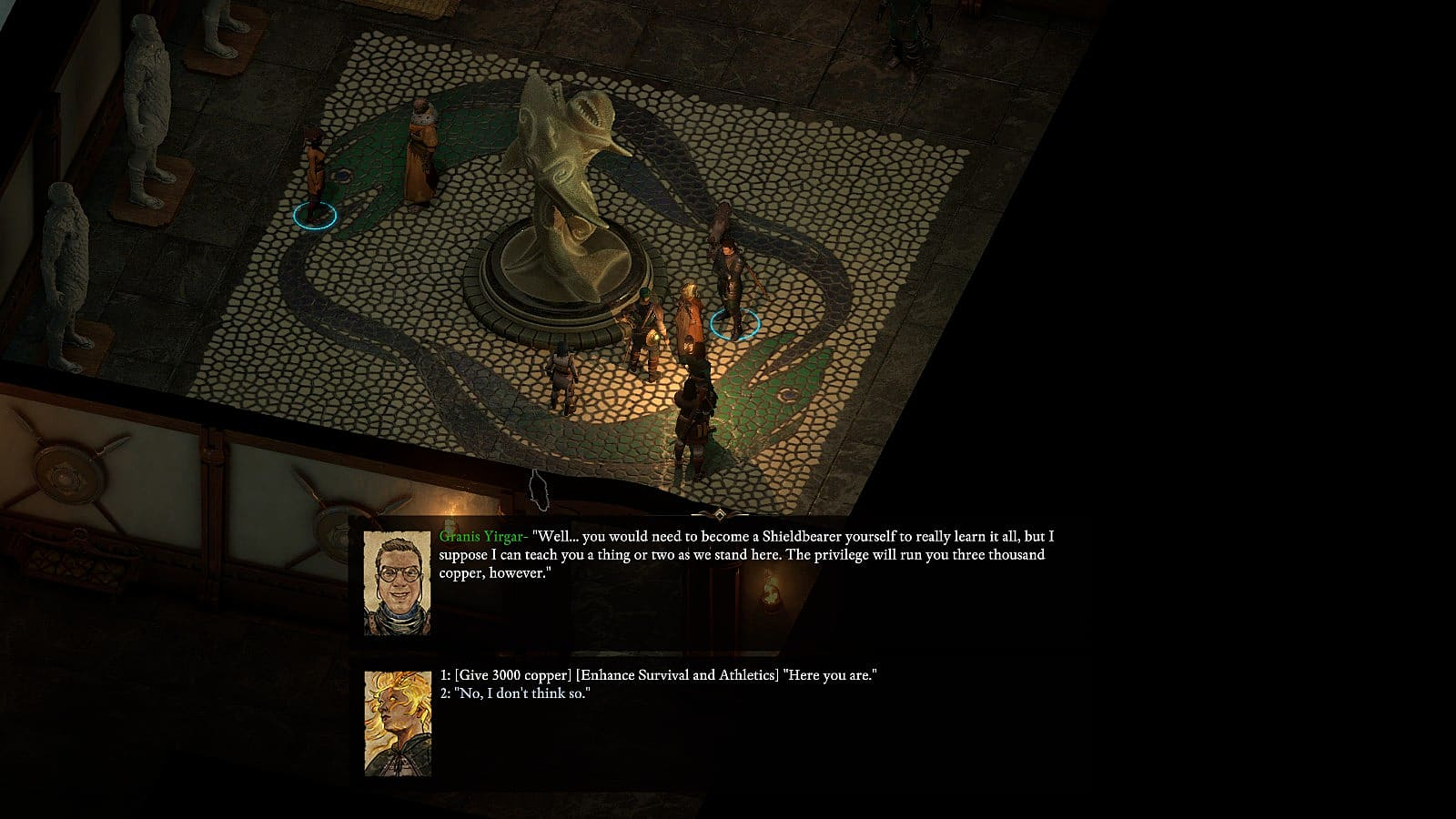 Pillars of Eternity 2 Skill Trainer Locations Guide | Pillars of