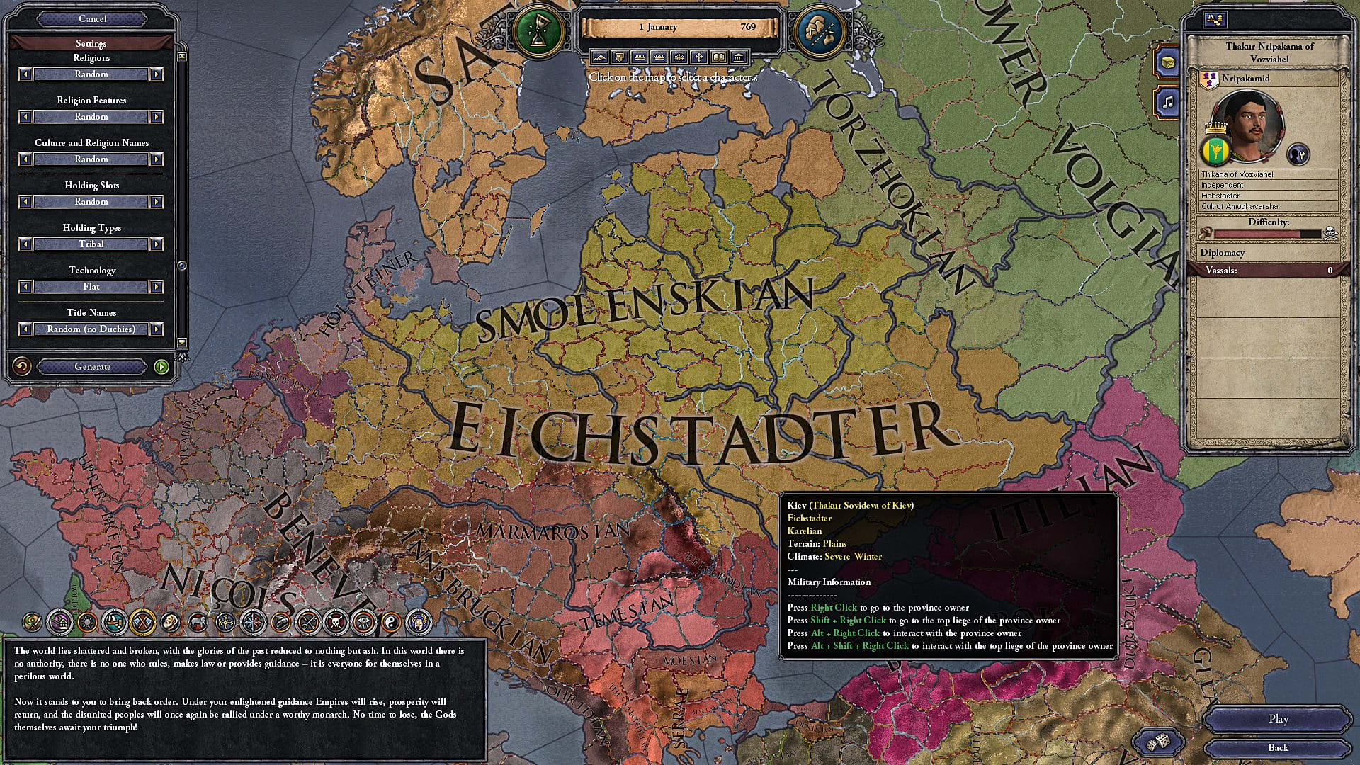 Crusader Kings II Holy Fury: How To Use The New Shattered World