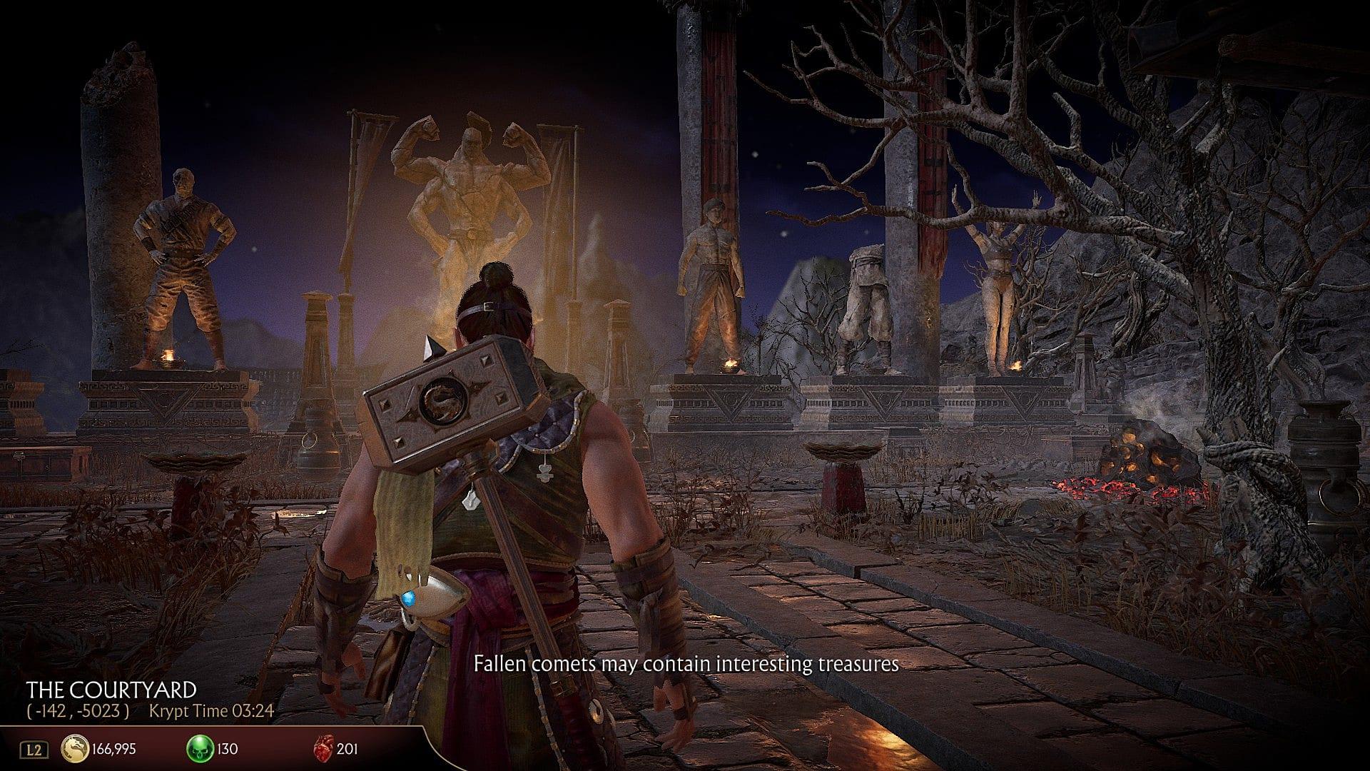 How to Find All Krypt Key Items in Mortal Kombat 11 | Mortal