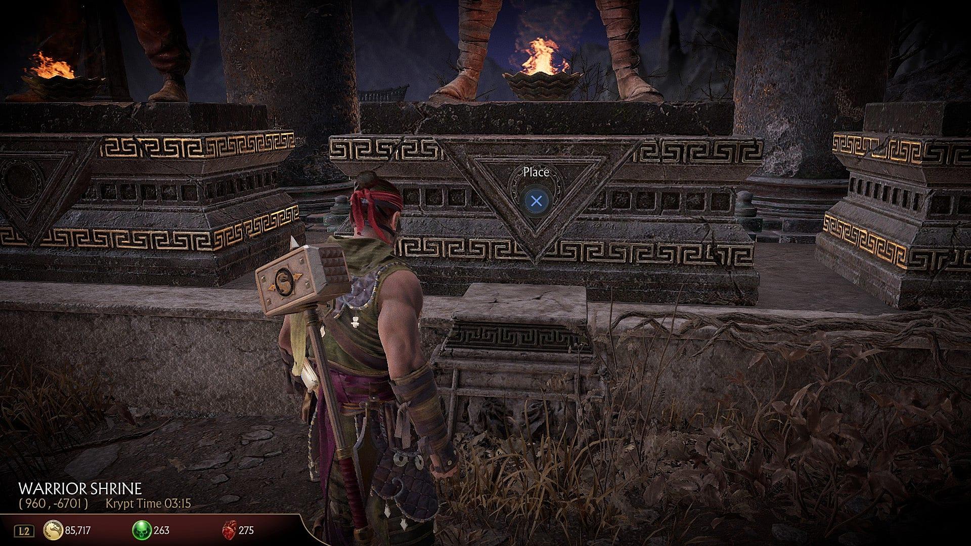How to Find All Krypt Key Items in Mortal Kombat 11   Mortal Kombat 11
