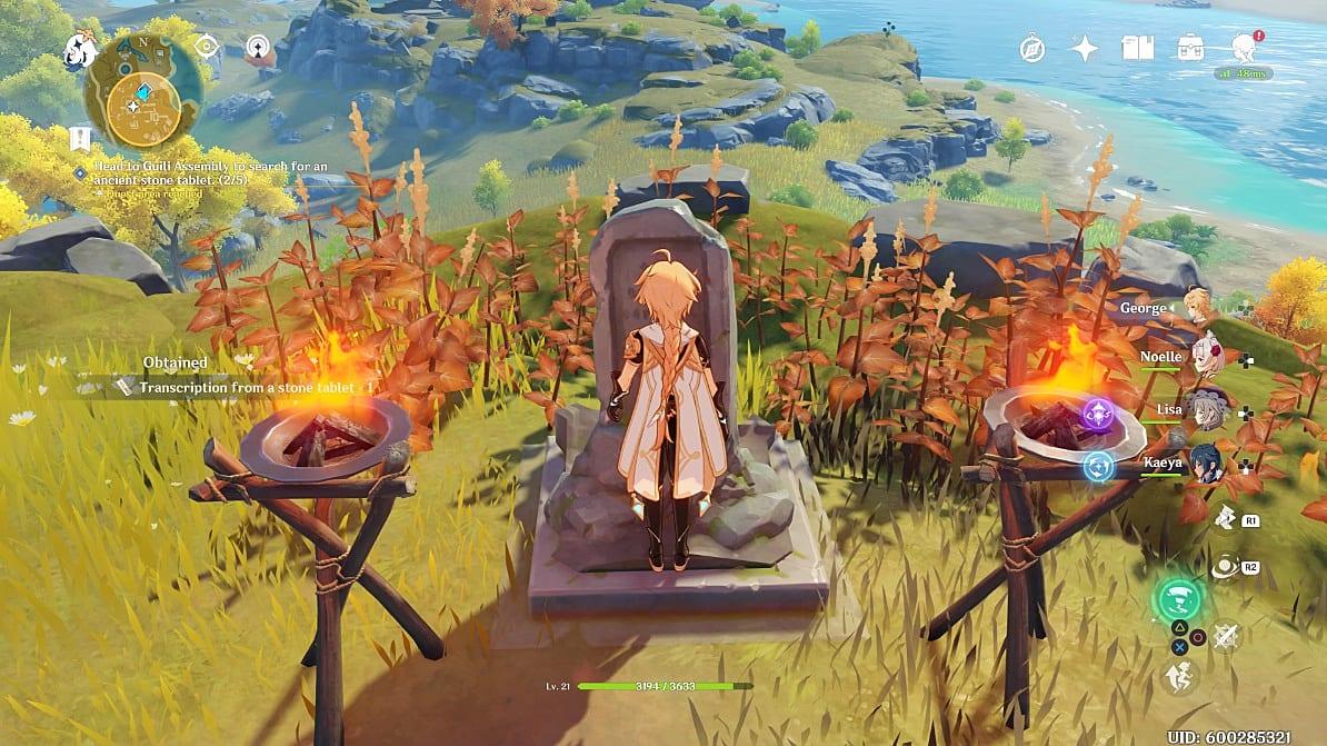 Genshin Impact Treasure Lost Treasure Found Quest Guide Genshin Impact