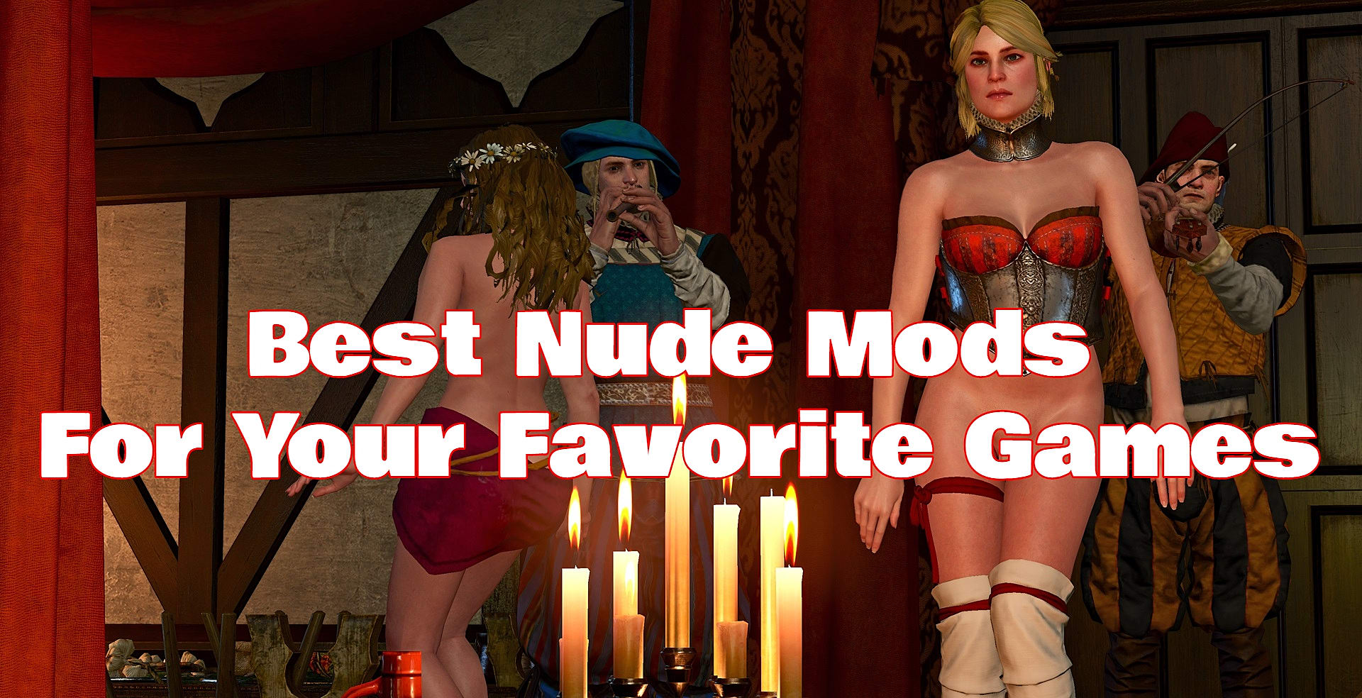 Adult Pornographic Games 11 more nsfw nude mods from your favorite games