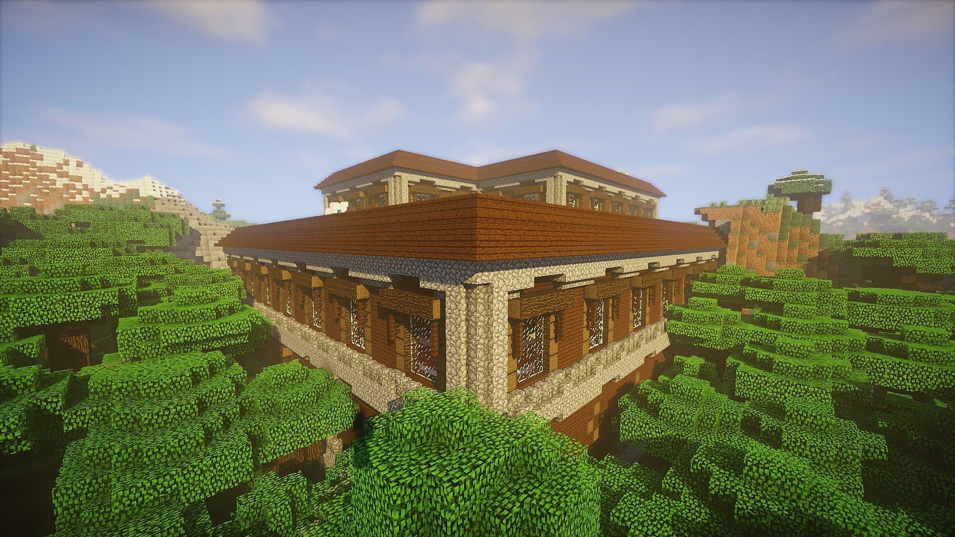 10 Epic Woodland Mansion Seeds For Minecraft 1 11 2