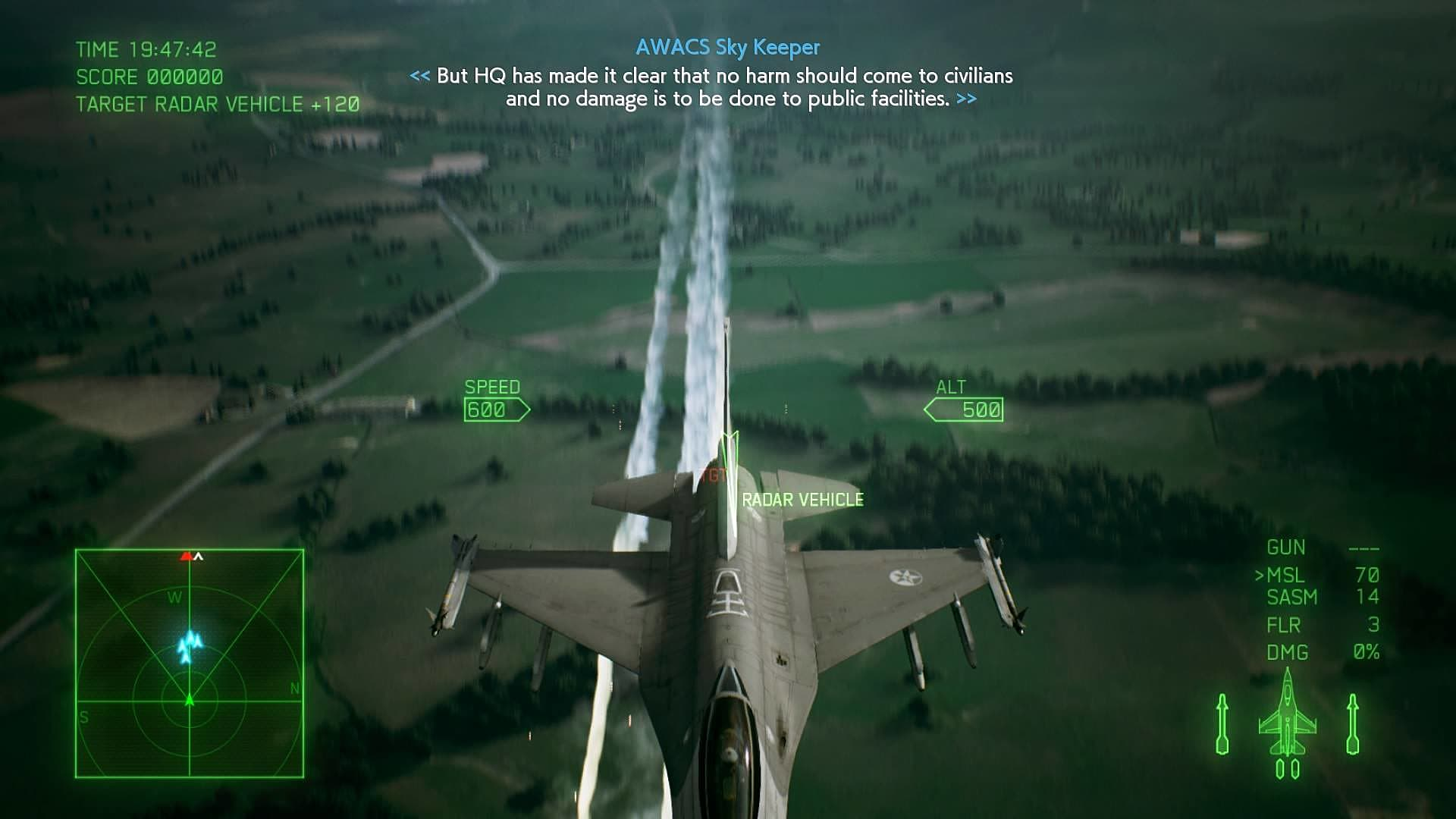 Ace Combat 7: How to Use Flares | Ace Combat 7: Skies Unknown