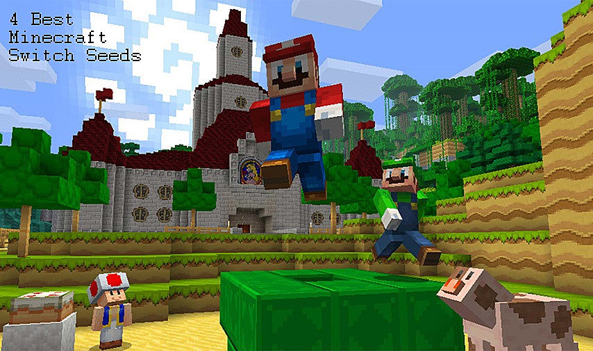The Best Minecraft Seeds For The Nintendo Switch - Minecraft name andern deutsch