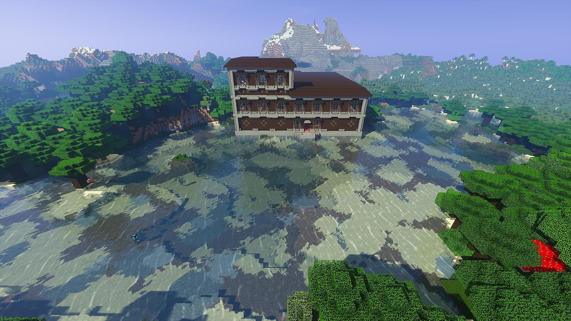 10 Epic Woodland Mansion Seeds For Minecraft 1 11 2