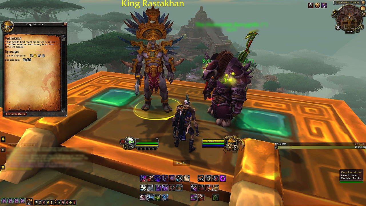 world of warcraft battle for azeroth review in progress world