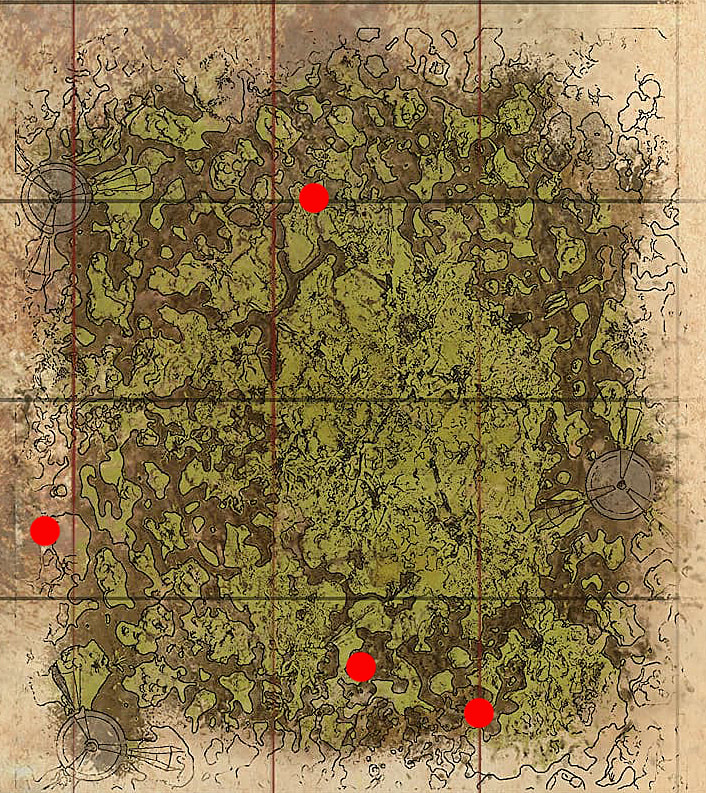 Ark Genesis Resource Map Location Guide Ark Survival Evolved You can use the link to get to the full map. ark genesis resource map location