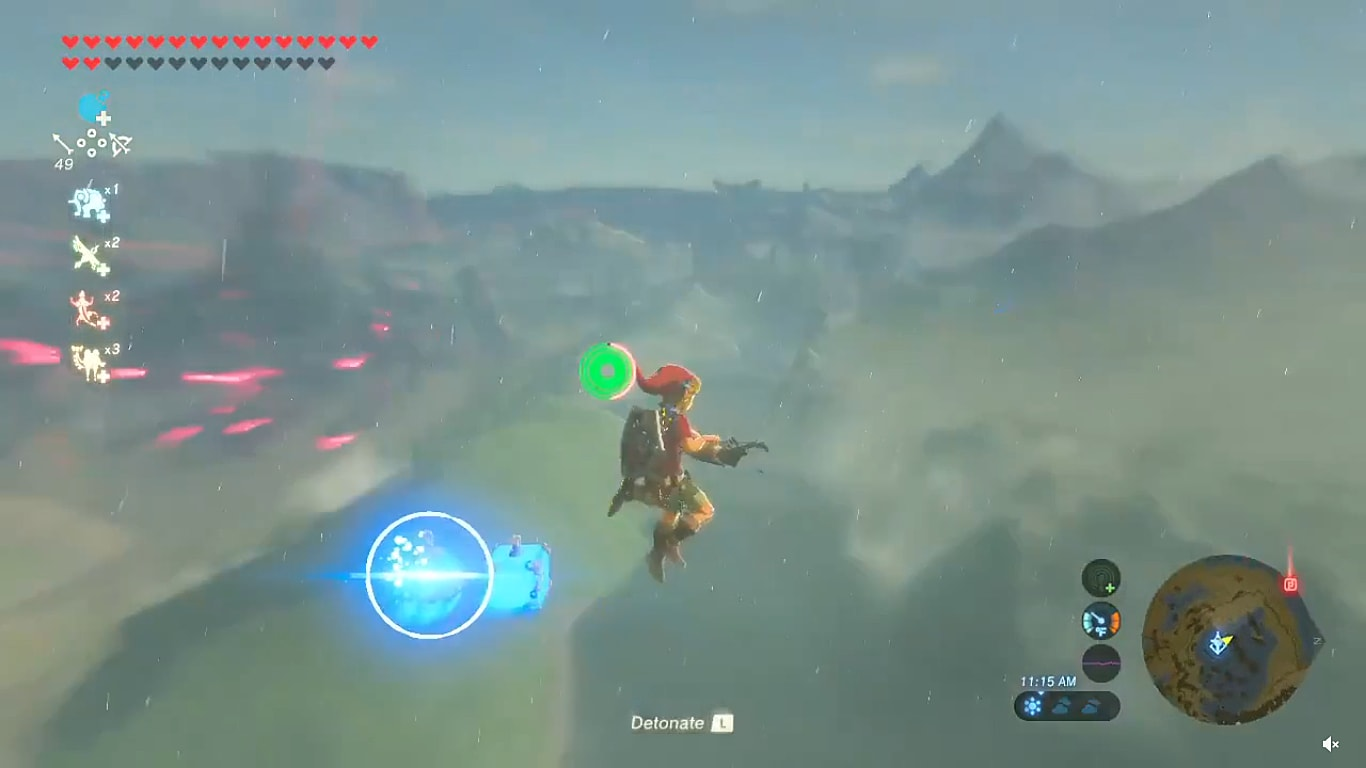 Breath Of The Wild Exploit Lets You Completely Skip The Lost Woods