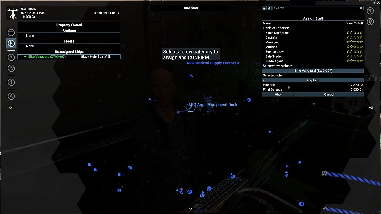 How to Find and Manage Crew Members in X4 Foundations   X4: Foundations