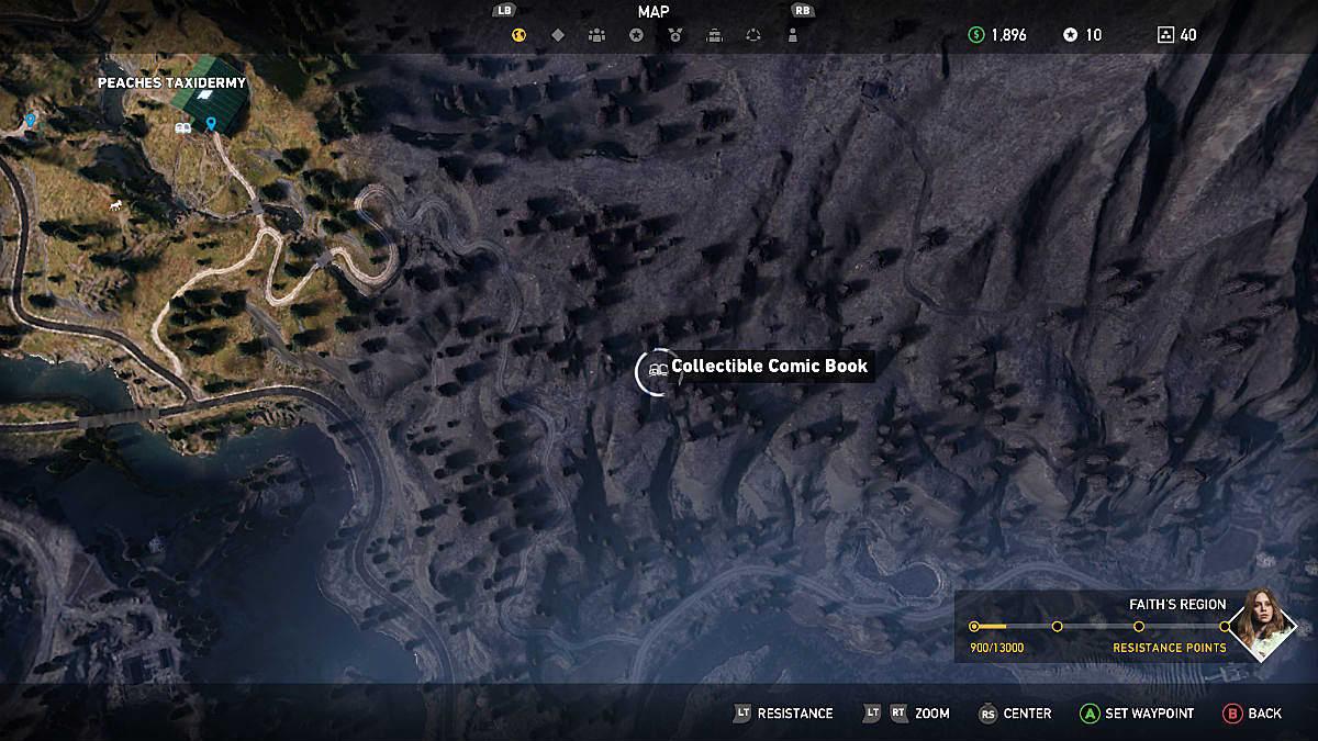 Far Cry 5 Complete Comic Book Locations Guide Far Cry 5