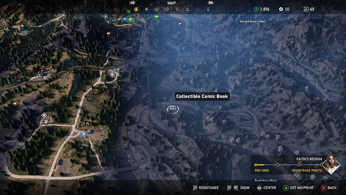 Far Cry 5 Complete Comic Book Locations Guide Far Cry 5